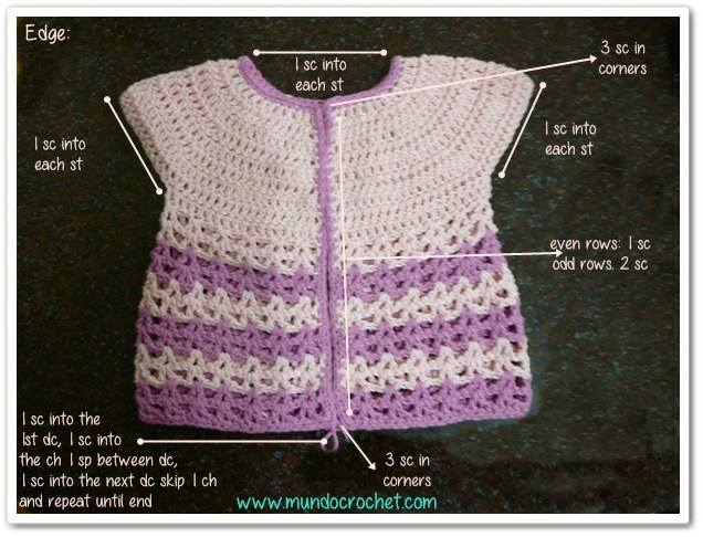 chaqueta bebe crochet-paso a paso-foto tutorial-otakulandia.es (12)
