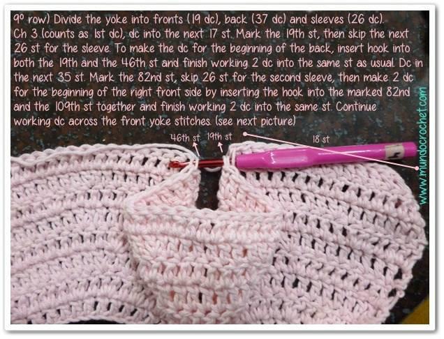 chaqueta bebe crochet-paso a paso-foto tutorial-otakulandia.es (8)
