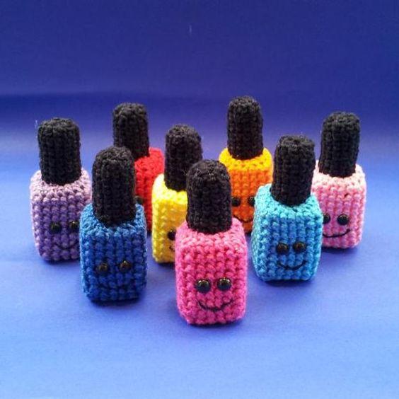 llaveros crochet ideas-otakulandia.es (4)