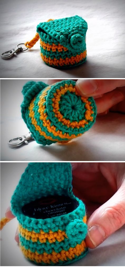 llaveros crochet ideas-otakulandia.es