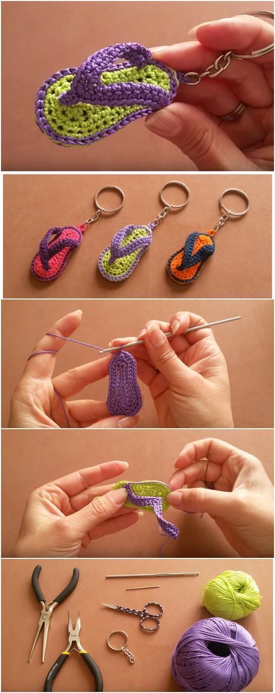 llaveros crochet paso paso-otakulandia.es (1)