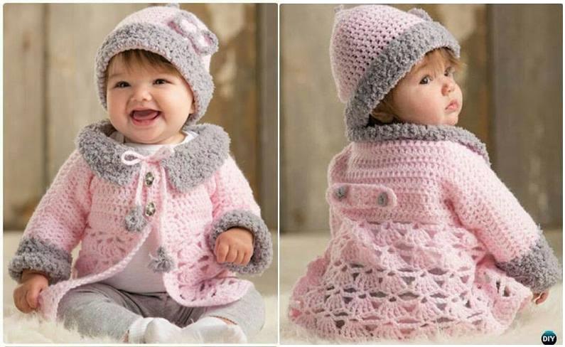 29 Prendas de Abrigo para Bebés en Crochet