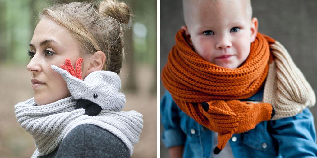 bufandas animales crochet-otakulandia.es (1)