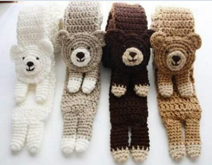 bufandas animales crochet-otakulandia.es (21)