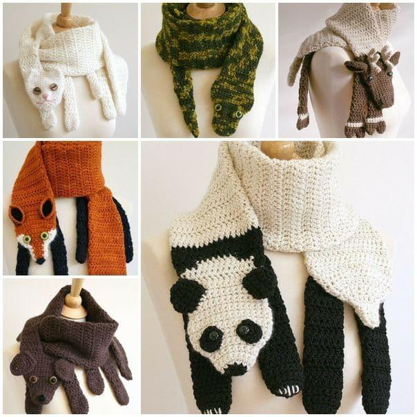 bufandas animales crochet-otakulandia.es (3)