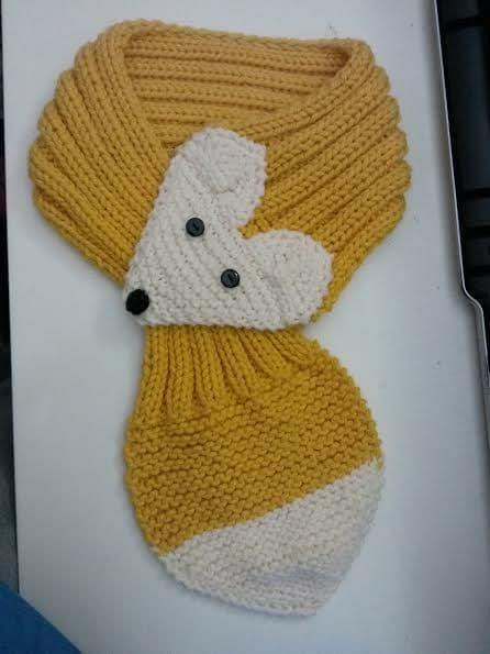 bufandas animales crochet-otakulandia.es (5)
