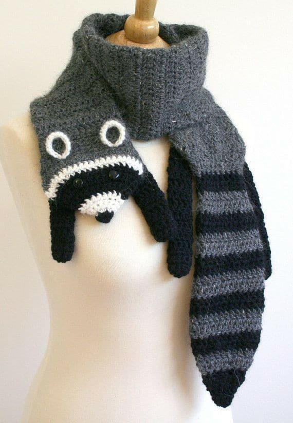 bufandas animales crochet-otakulandia.es (7)
