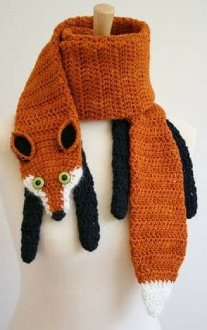 bufandas animales crochet-otakulandia.es (8)