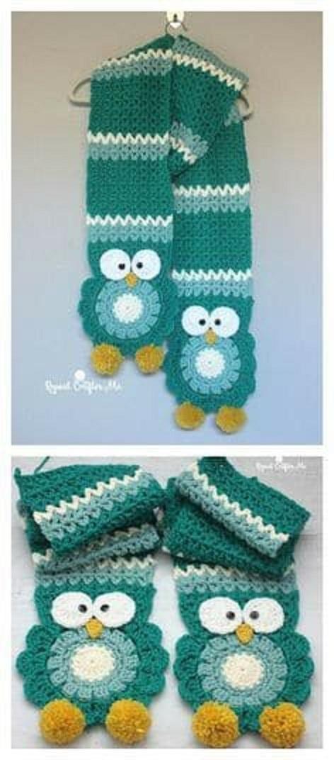 bufandas animales crochet-otakulandia.es (9)