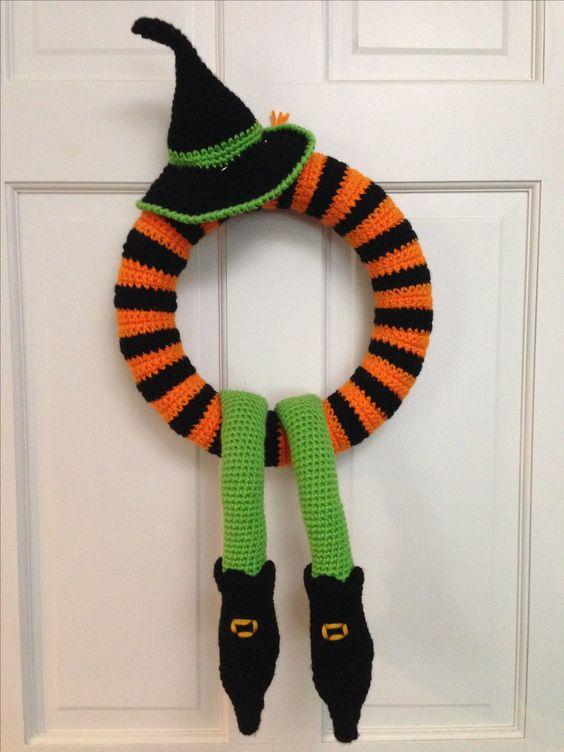 corona halloween crochet-otakulandia.es (11)