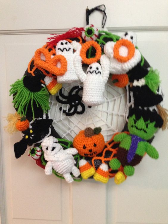 corona halloween crochet-otakulandia.es (12)