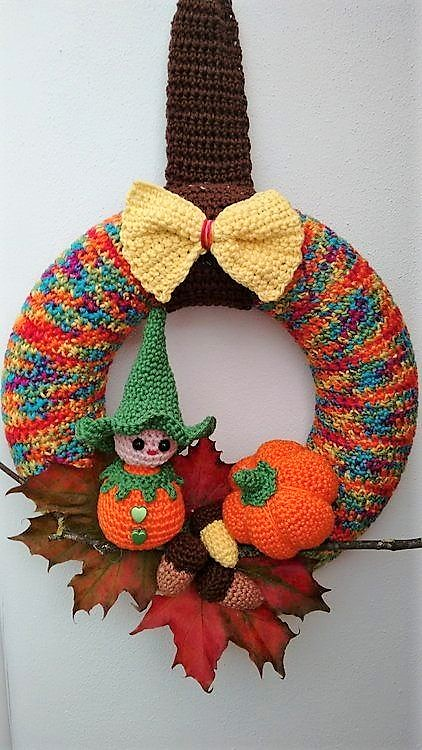 corona halloween crochet-otakulandia.es (18)