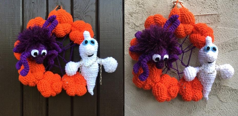 corona halloween crochet-otakulandia.es (2)
