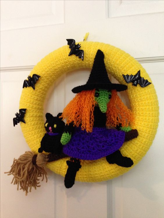 corona halloween crochet-otakulandia.es (20)