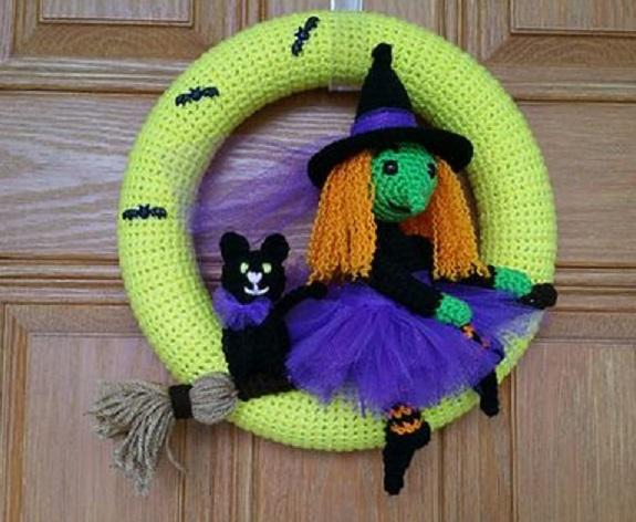 corona halloween crochet-otakulandia.es (5)