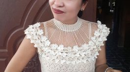cuello crochet para ir de boda-otakulandia.es (1)