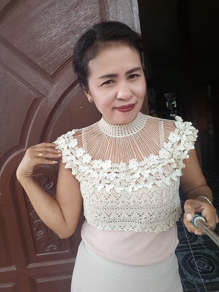 cuello crochet para ir de boda-otakulandia.es (2)
