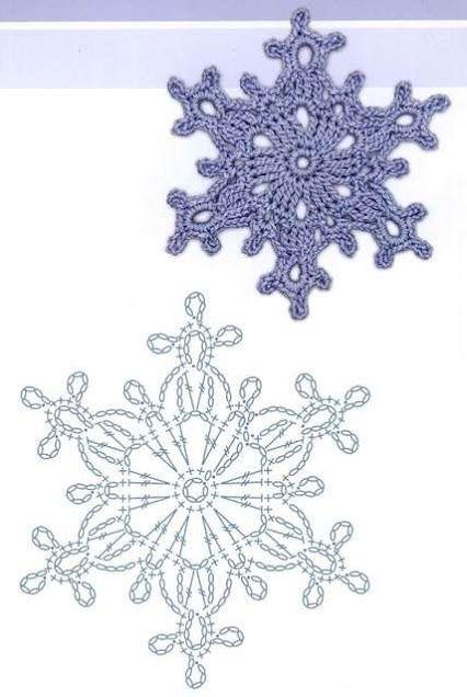 esquemas copos de nieve crochet Otakulandia.es (1)