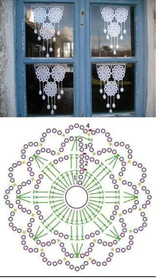 esquemas copos de nieve crochet Otakulandia.es (11)