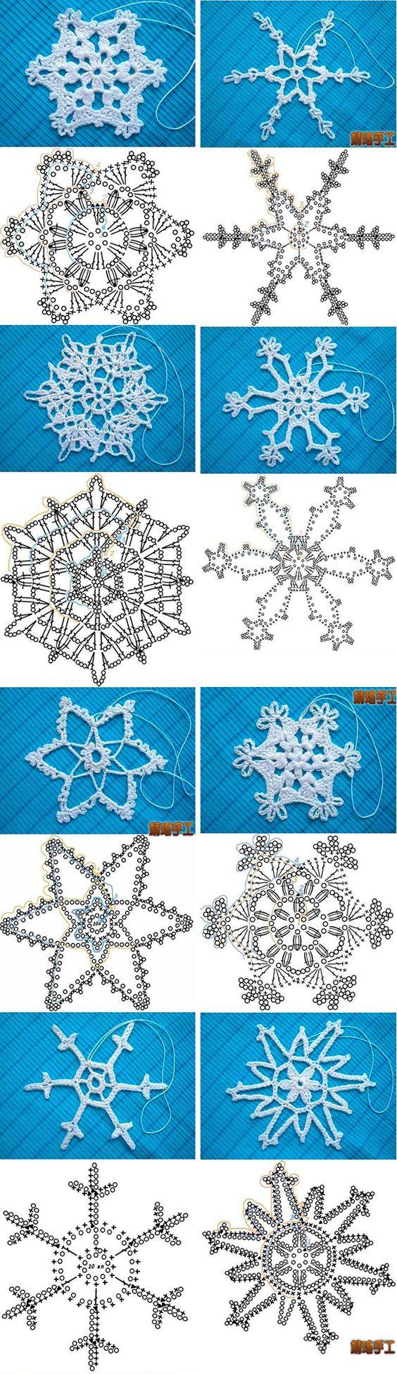esquemas copos de nieve crochet Otakulandia.es (2)