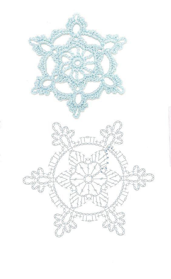 esquemas copos de nieve crochet Otakulandia.es (3)