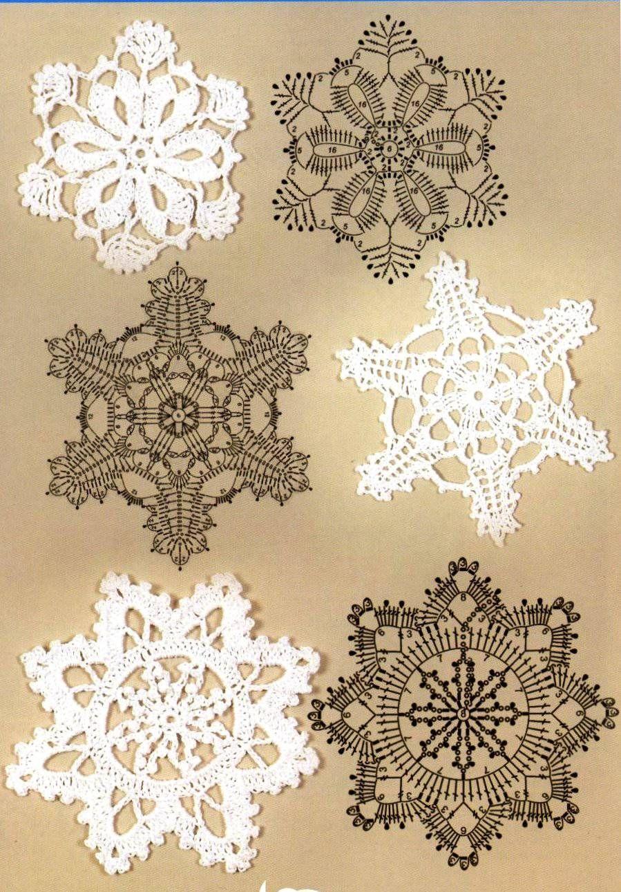 esquemas copos de nieve crochet Otakulandia.es (6)