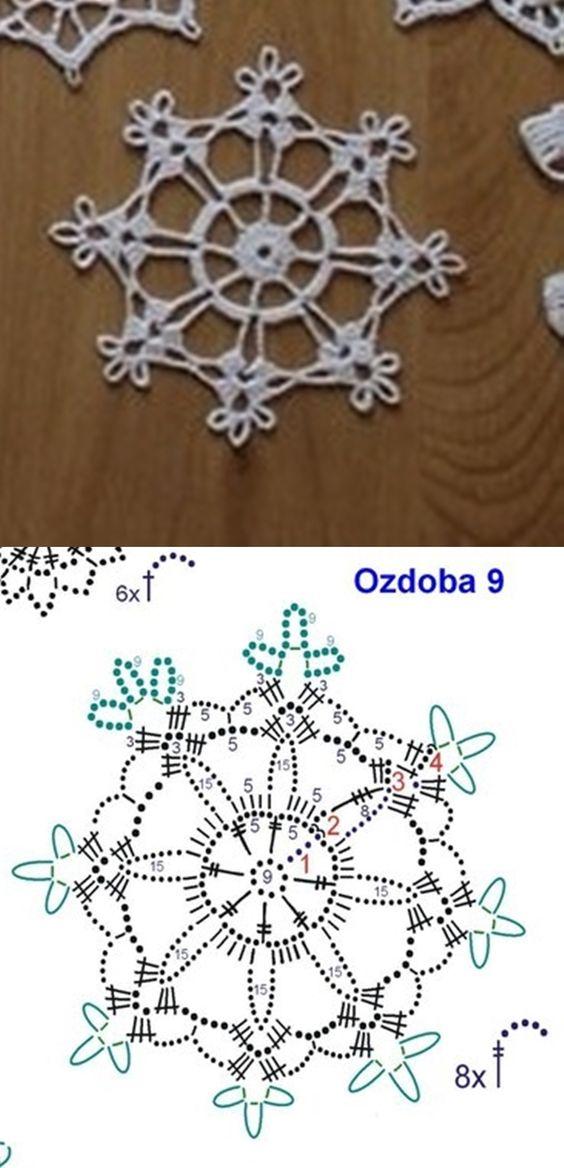 esquemas copos de nieve crochet Otakulandia.es (7)