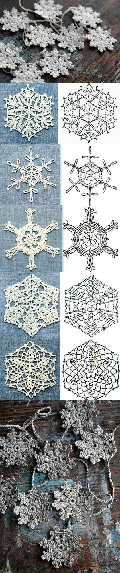 esquemas copos de nieve crochet Otakulandia.es (9)