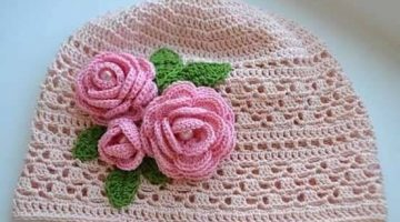 gorro rosas-tutorial-crochet-otakulandia.es (1)