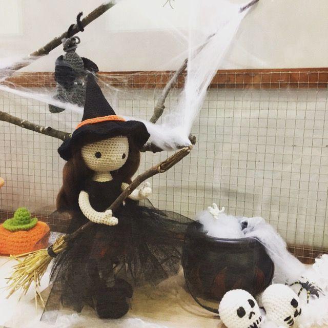 halloween bruja amigurumi-otakulandia.es