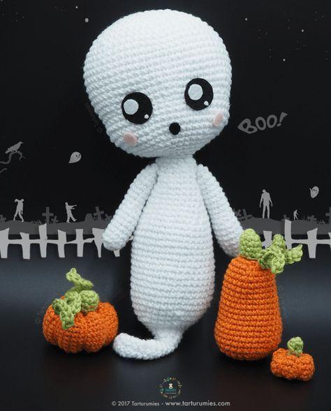 halloween fantasma amigurumi-otakulandia.es (2)