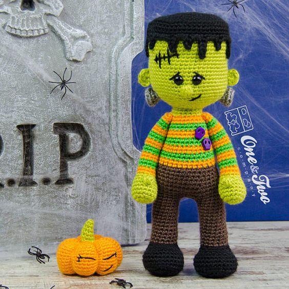 halloween frankenstein-amigurumis-otakulandia.es