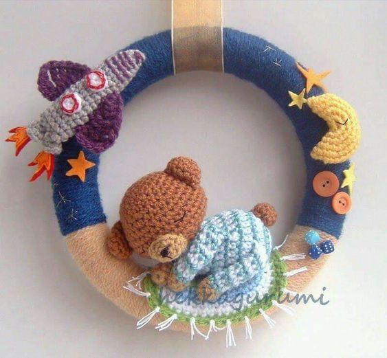 corona bebe crochet-otakulandia.es