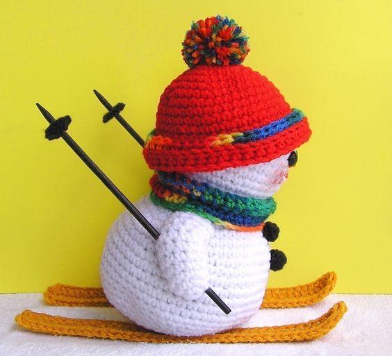muneco nieve amigurumi navidad-otakulandia.es (3)