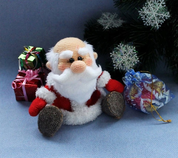 papa noel crochet-otakulandia.es (2)